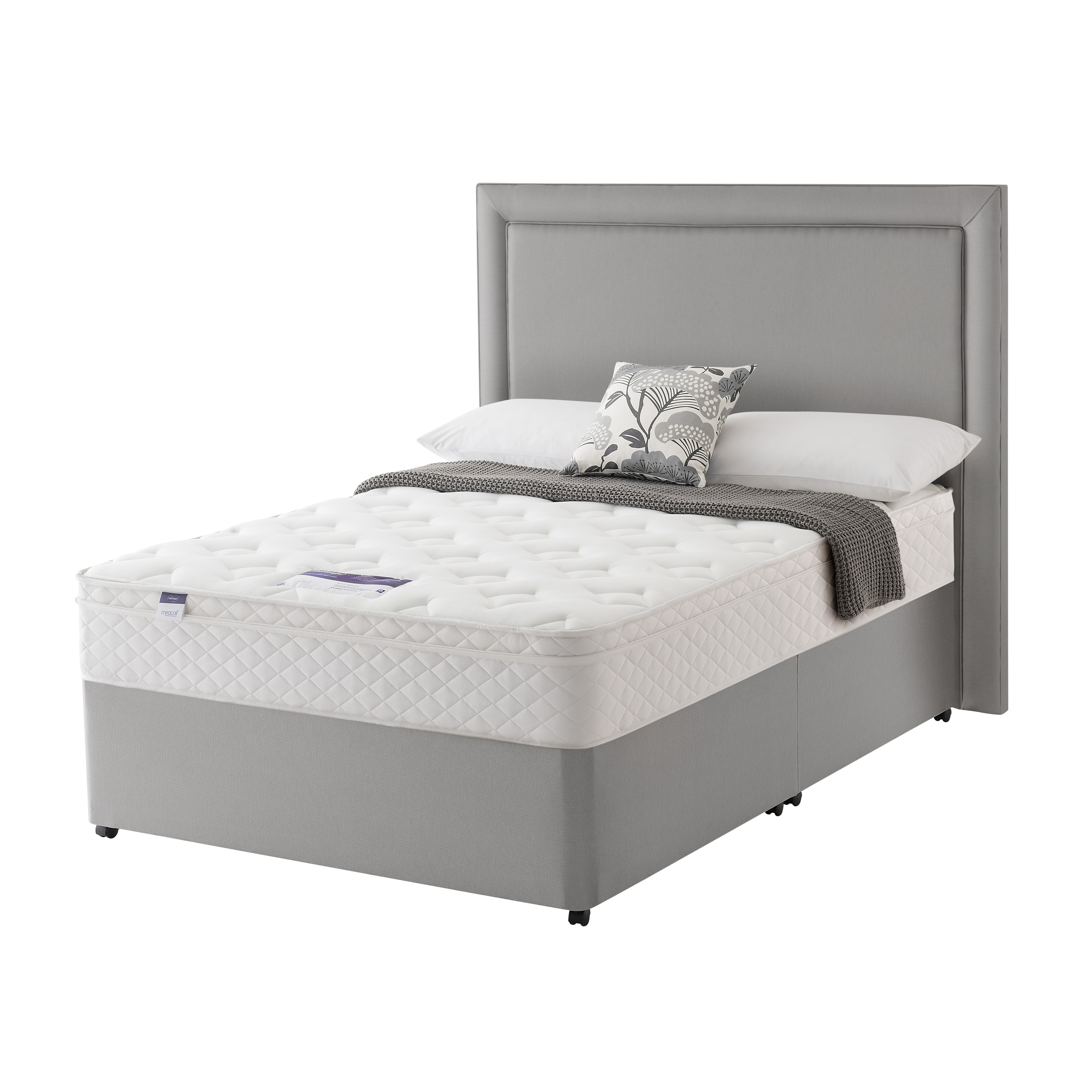 Silentnight Scarlet Memory Foam Divan Bed Wayfair Uk