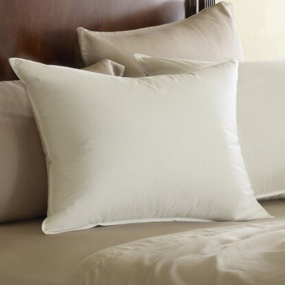 pacific coast feather euro feather pillow reviews wayfair. Black Bedroom Furniture Sets. Home Design Ideas