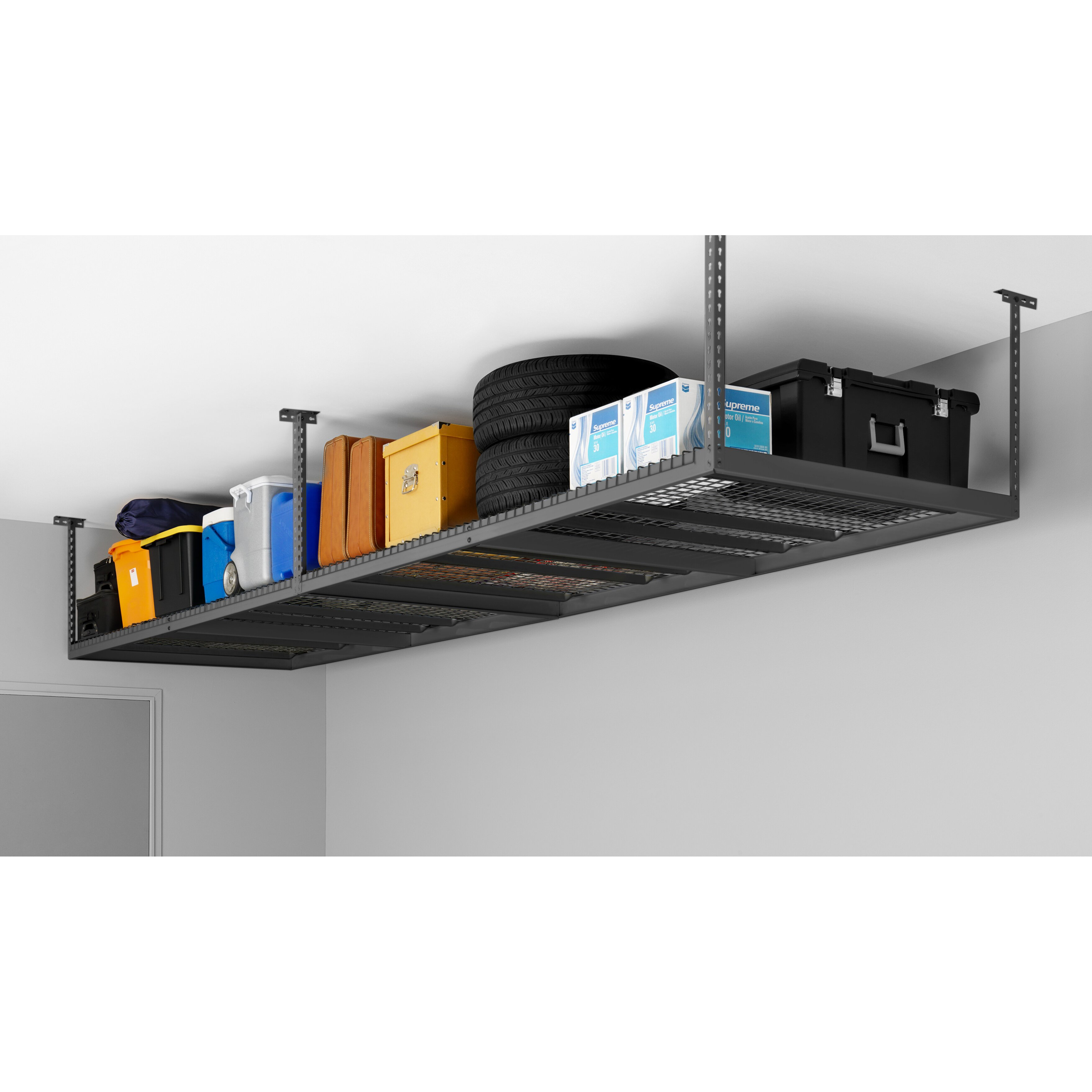 Newage Products Adjustable Ceiling Shelving Unit Amp Reviews