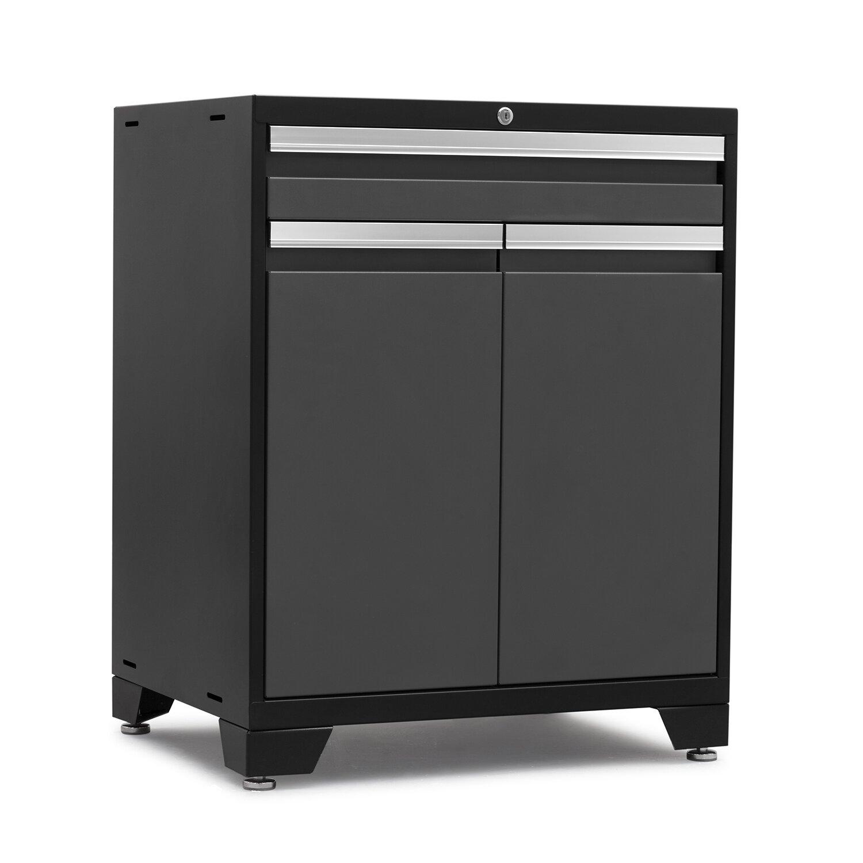Newage products pro 3 0 series 12 piece garage storage for 3 piece metal kitchen units