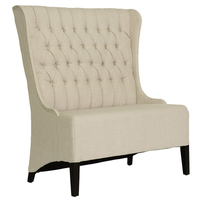 Foyer Wing Chair : Wholesale interiors baxton studio entryway bench reviews