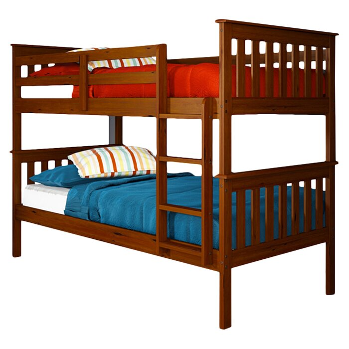 Donco Kids Donco Twin Bunk Bed Amp Reviews Wayfair