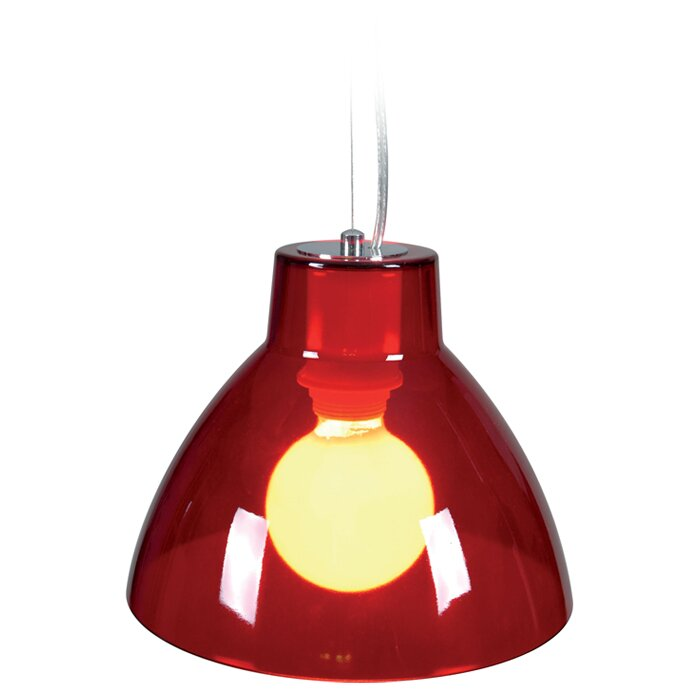 Naeve Leuchten Green 1 Light Bowl Pendant Amp Reviews