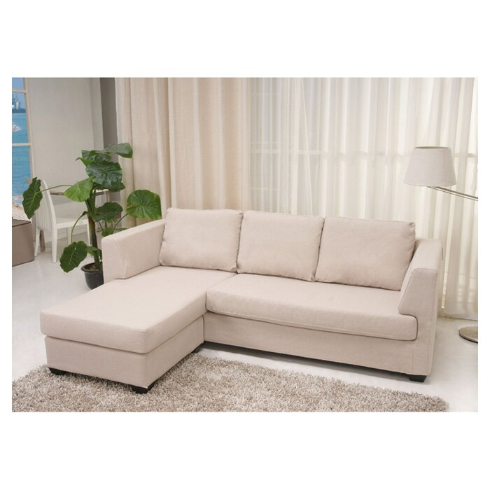 Andover mills almont reversible chaise corner sofa for Chaise corner sofas uk