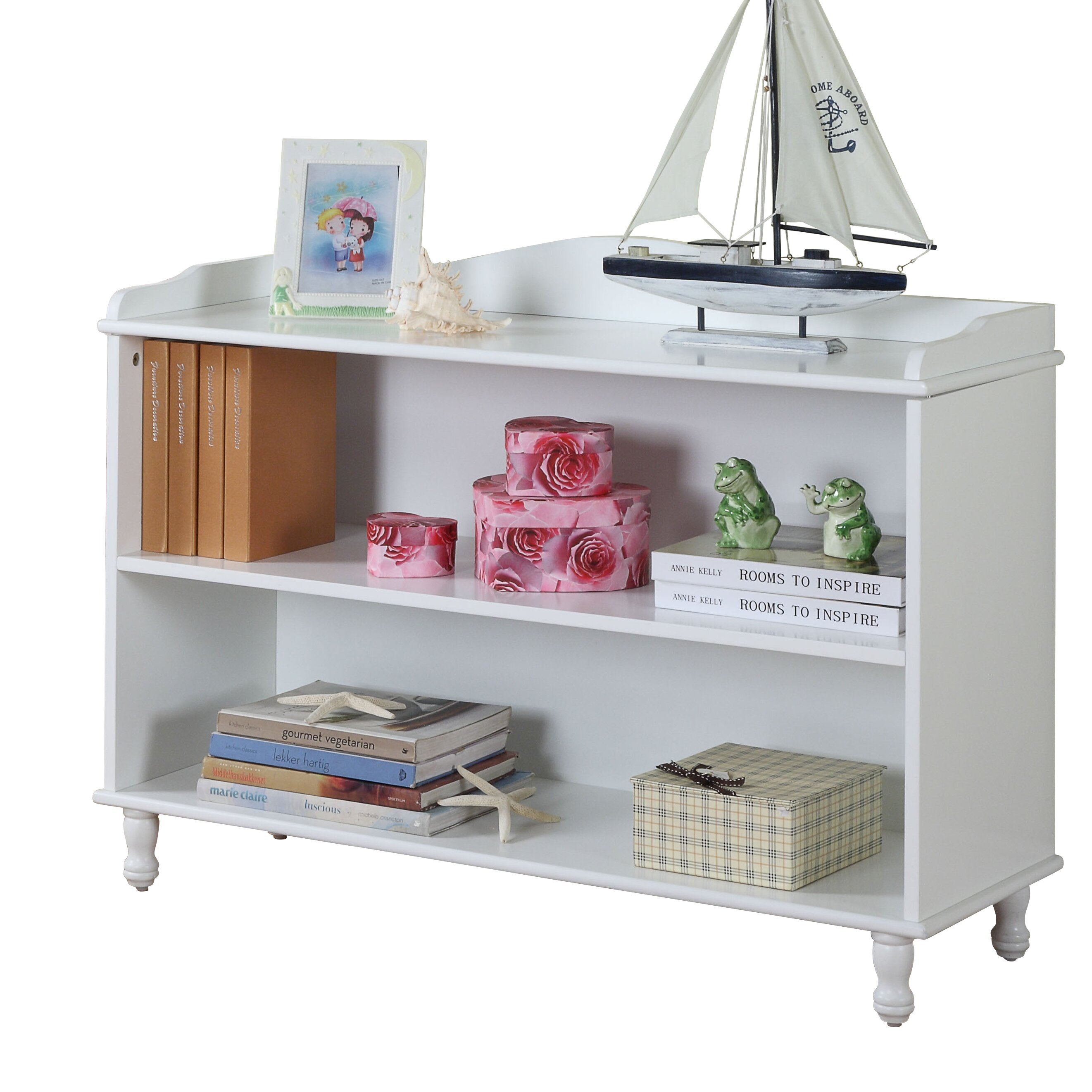 Inroom designs 30 bookcase reviews wayfair In room designs