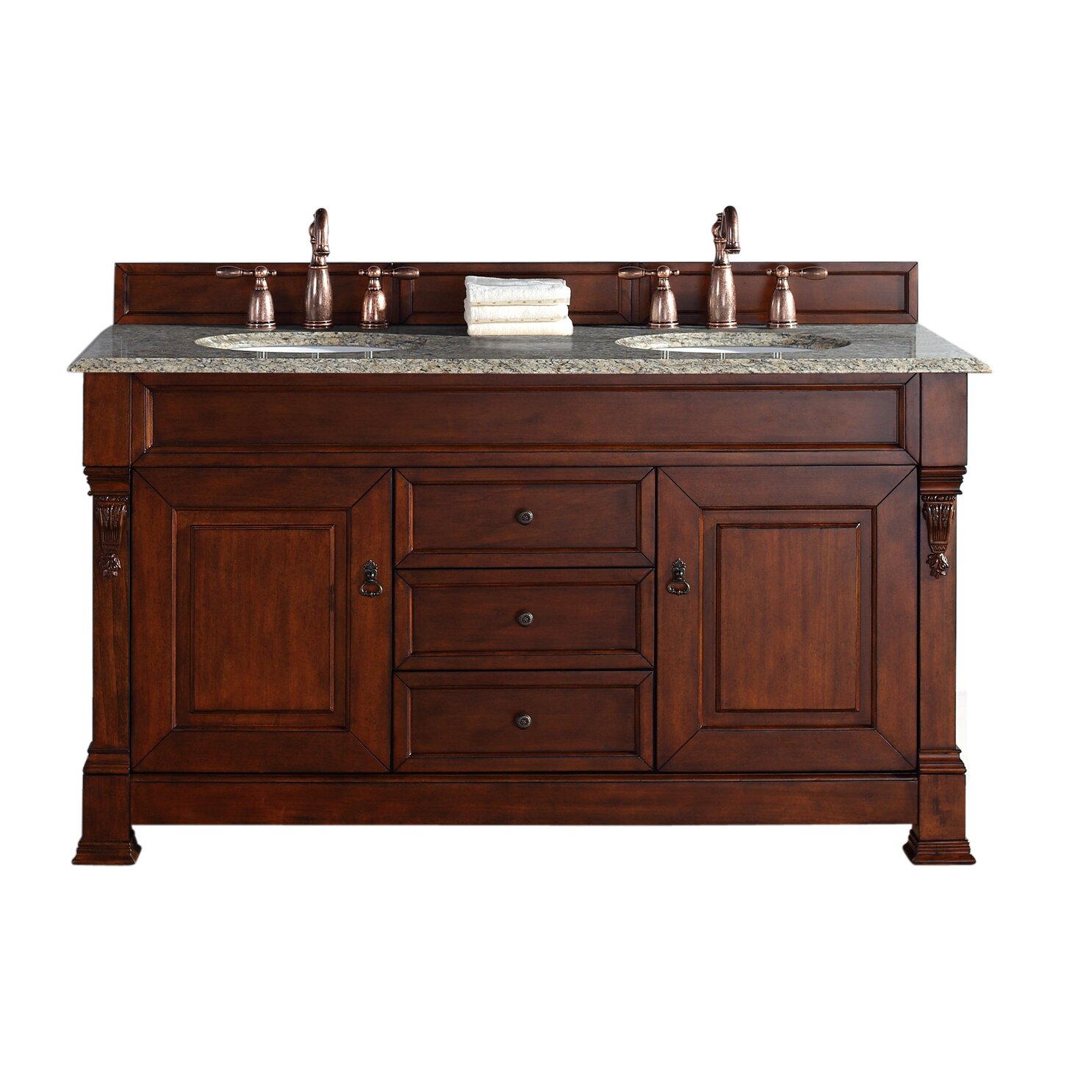 "James Martin Furniture Brookfield 60"" Double Bathroom Vanity Base II &am"