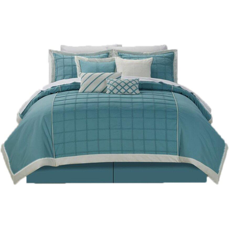 Chic Home Rhodes 8 Piece Comforter Set Amp Reviews Wayfair Ca