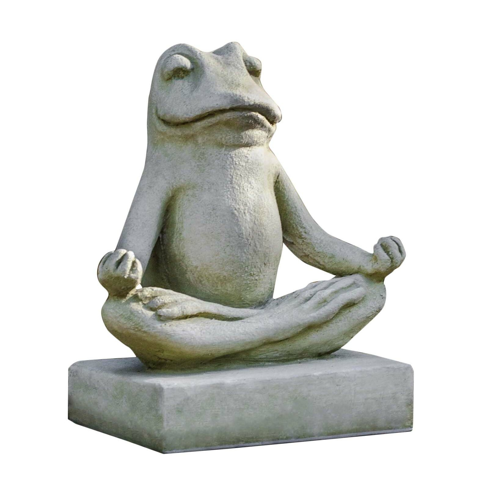 campania international inc mini zen frog statue reviews wayfair. Black Bedroom Furniture Sets. Home Design Ideas