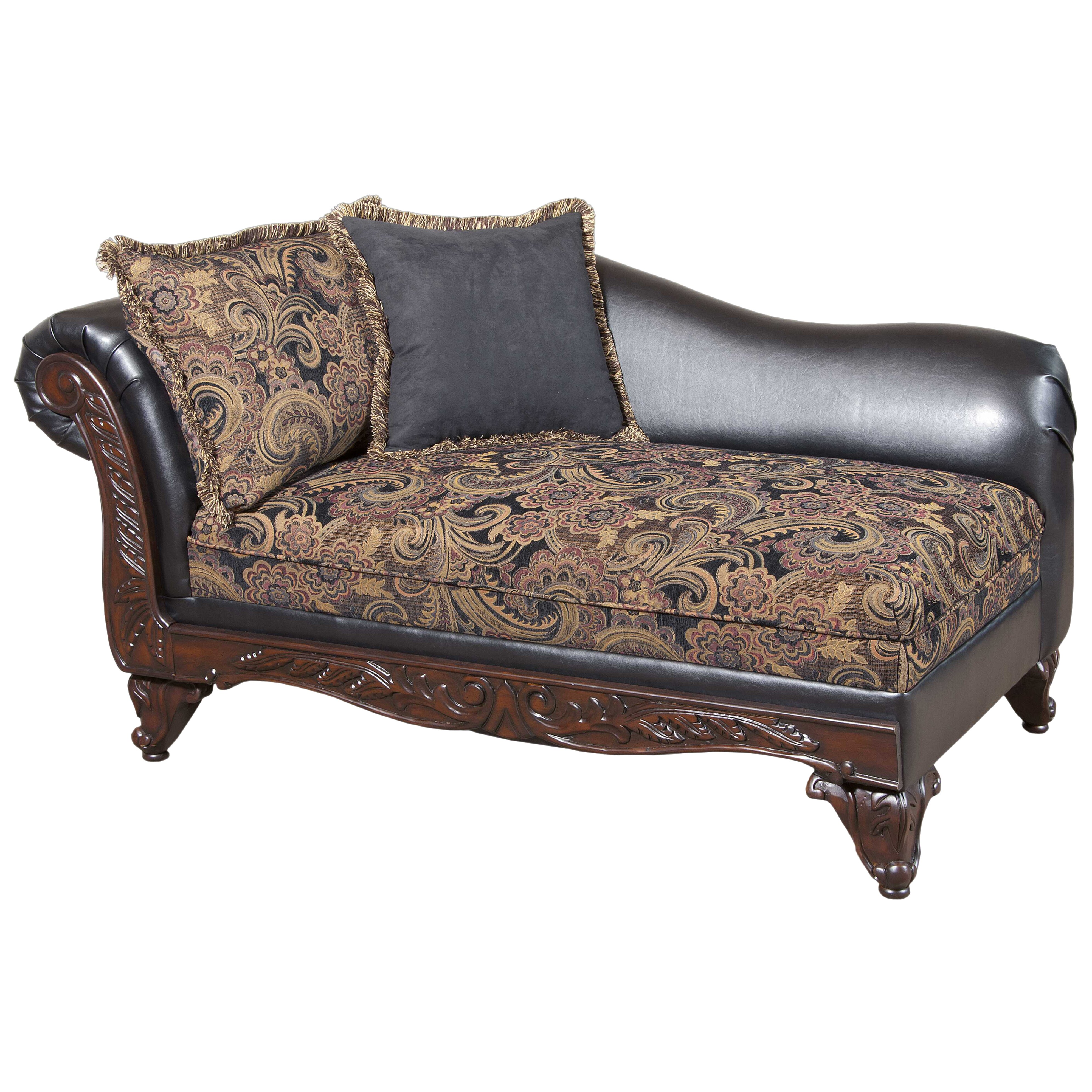 Serta Upholstery Floral Chaise Lounge & Reviews