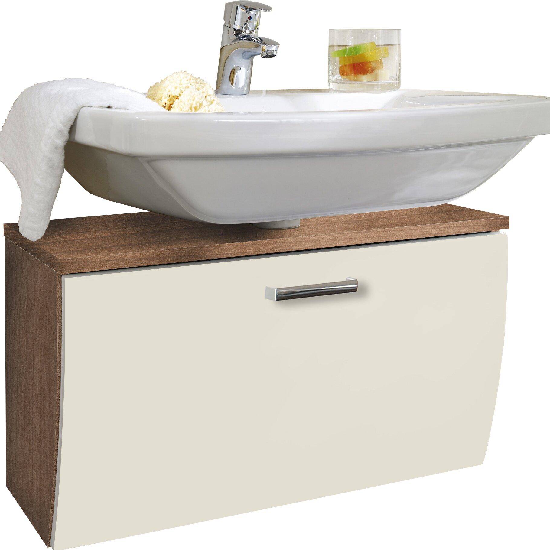 belfry 70 cm wandmontierter waschtisch von manufacturer. Black Bedroom Furniture Sets. Home Design Ideas
