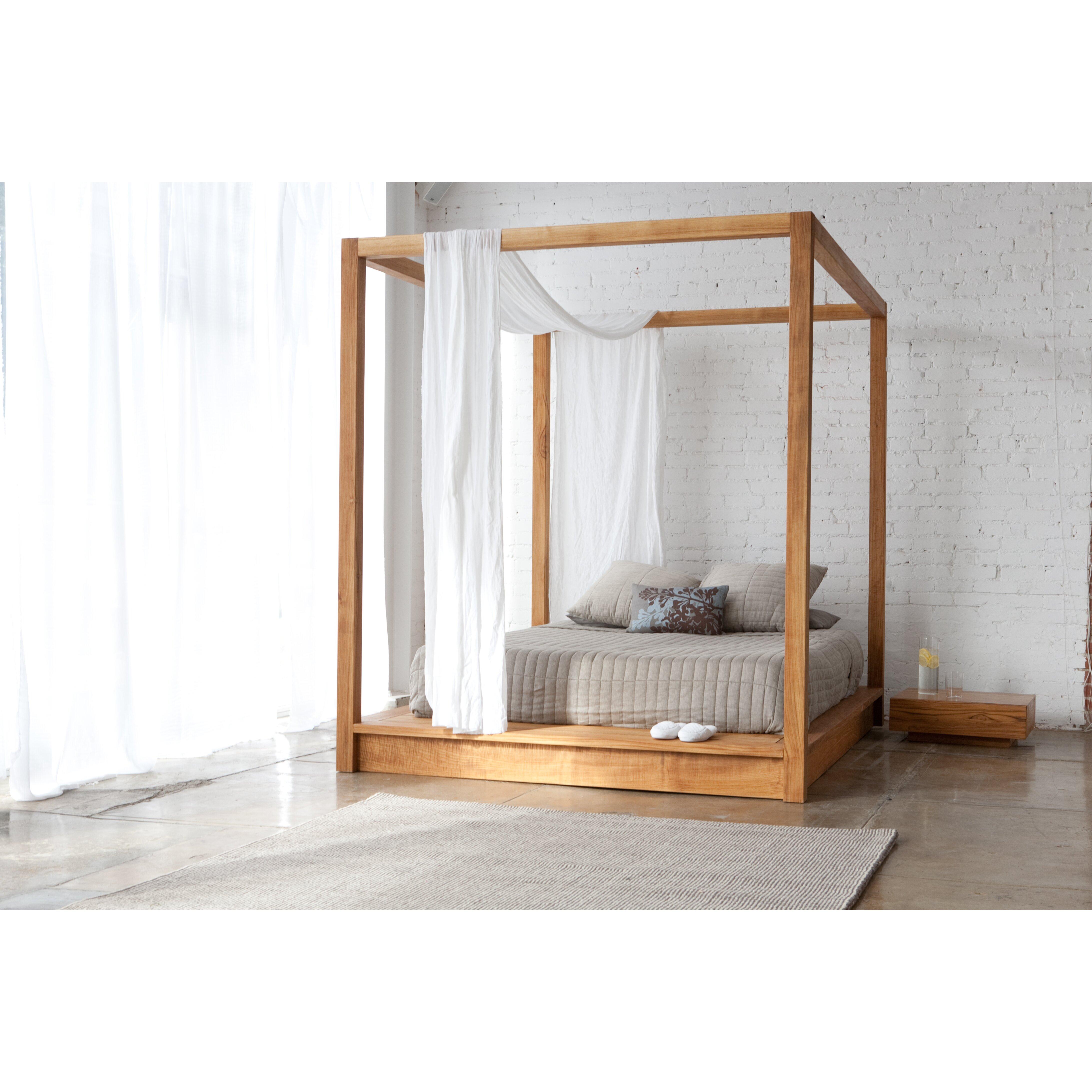 Mash Studios Pchseries Canopy Bed Reviews Wayfair