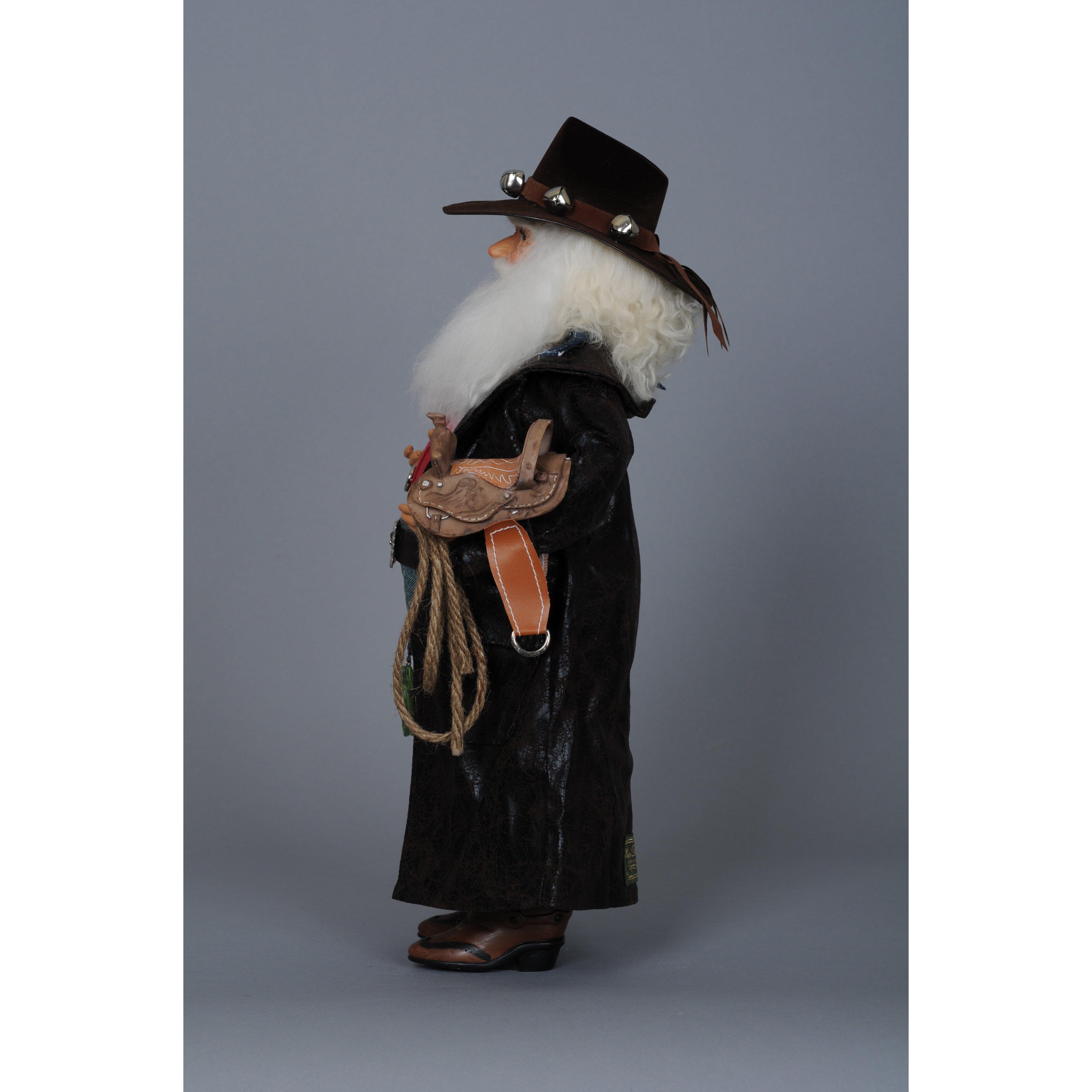 Karen didion christmas cowboy santa figurine reviews