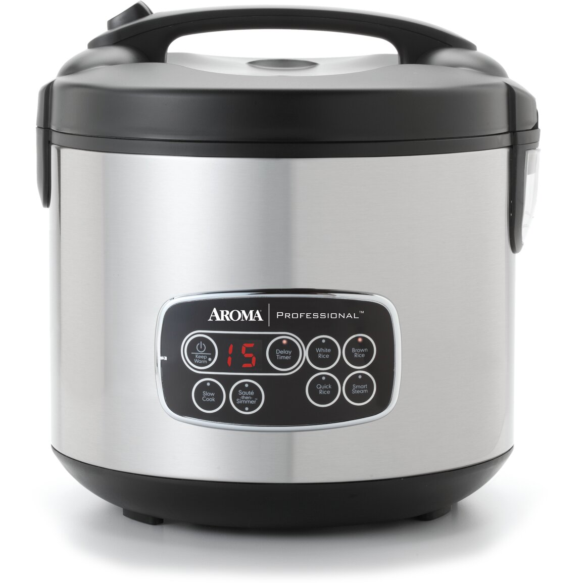Aroma professional 20 cup digital cool touch multi cooker for Multi cooker