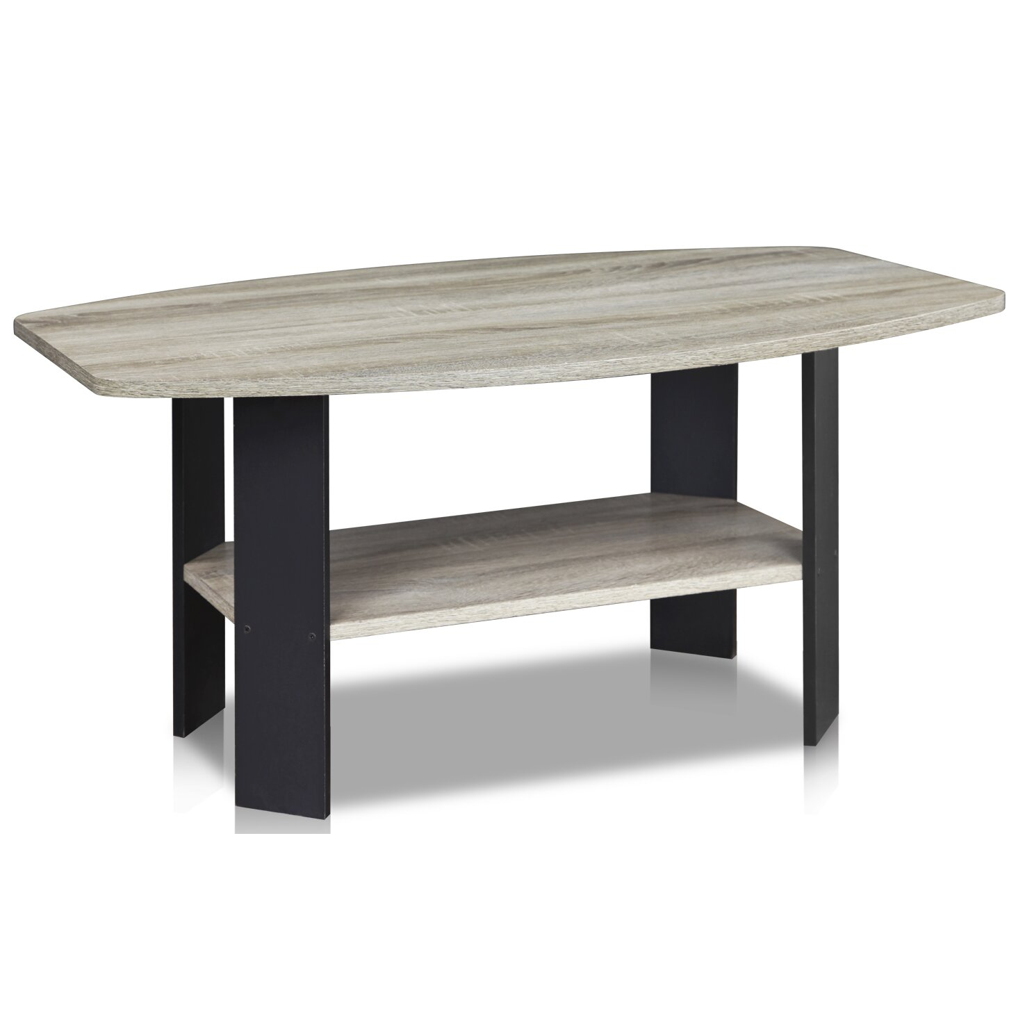 Furinno simple coffee table reviews wayfair for Simple table design html