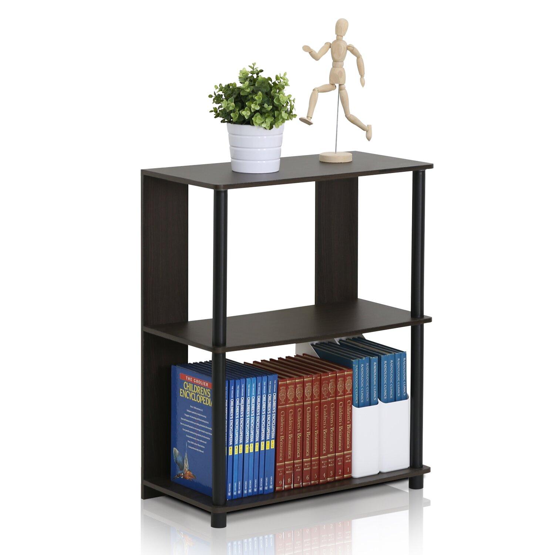 furinno jaya simple design 30 etagere bookcase reviews. Black Bedroom Furniture Sets. Home Design Ideas
