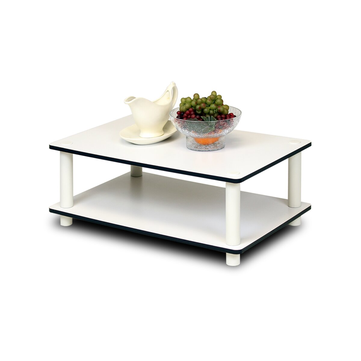 Furinno Jaya Oval Coffee Table: Furinno JUST Series Coffee Table & Reviews