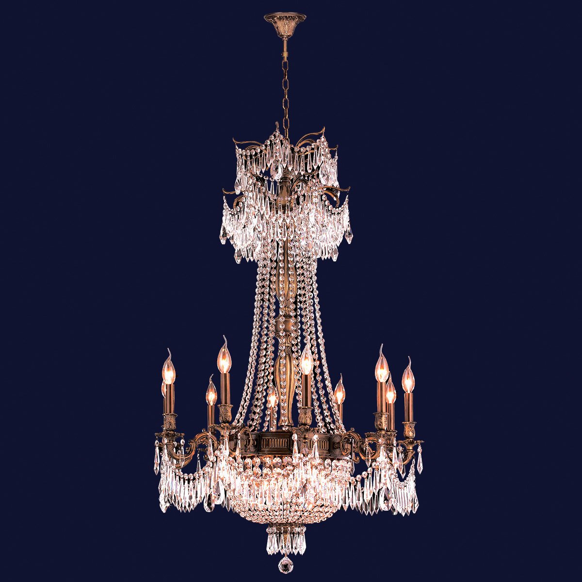 Wayfair Lights: Worldwide Lighting Winchester 15 Light Crystal Chandelier