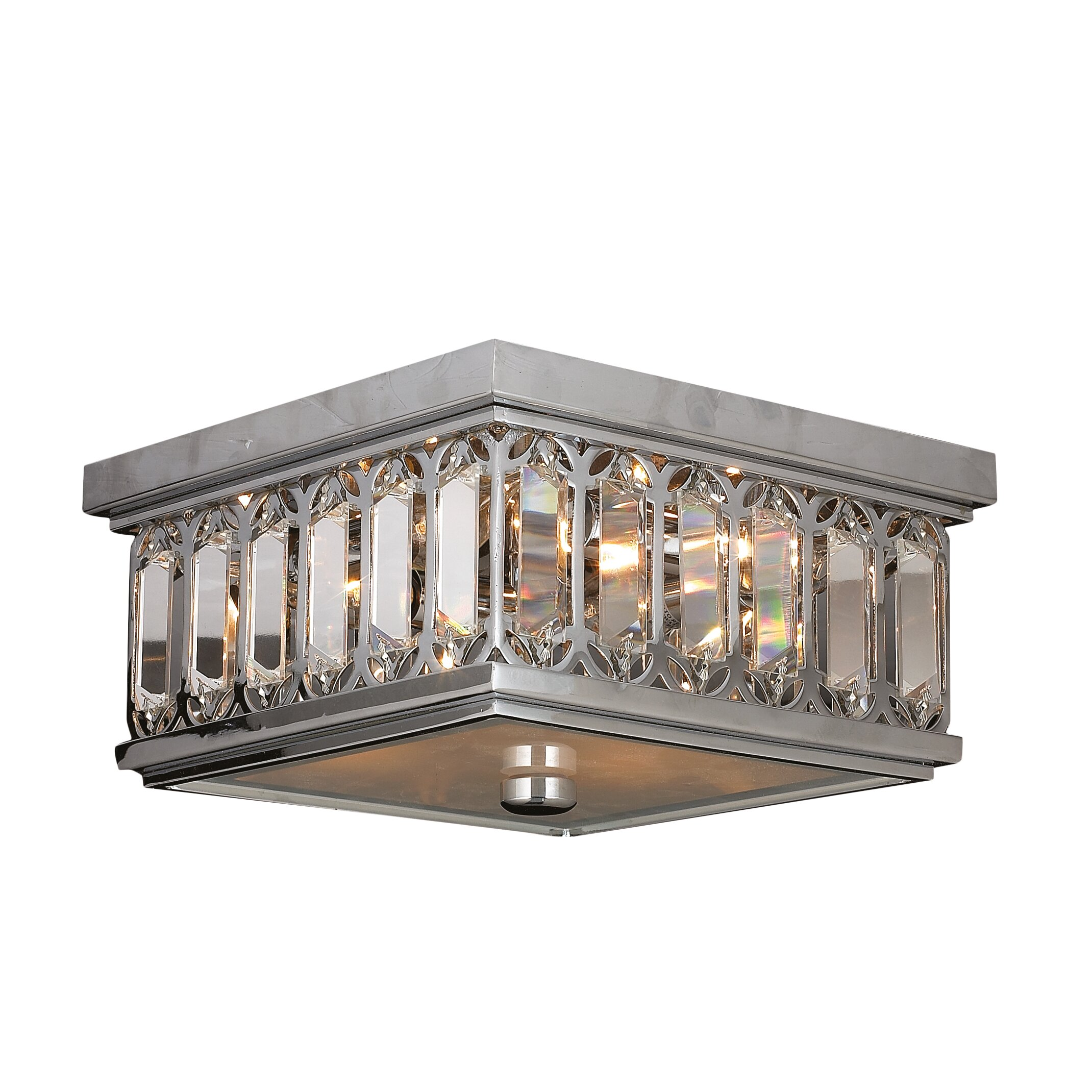 Worldwide Lighting Athens 4 Light Flush Mount Amp Reviews