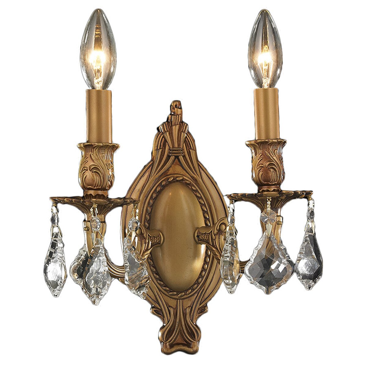 Wall Sconces At Wayfair : Worldwide Lighting Windsor 2 Light Wall Sconce Wayfair