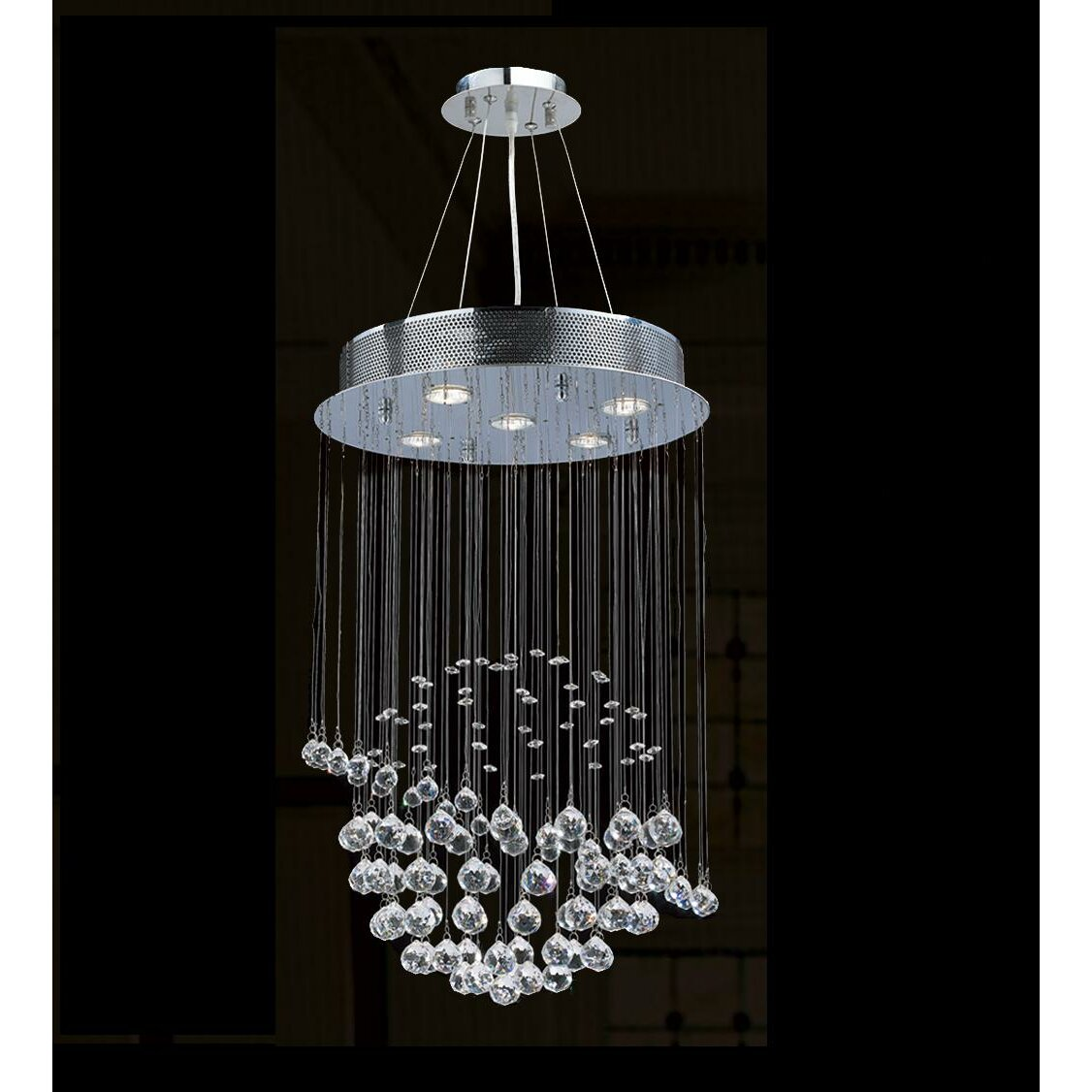 Wayfair Lights: Worldwide Lighting Icicle 5 Light Chandelier