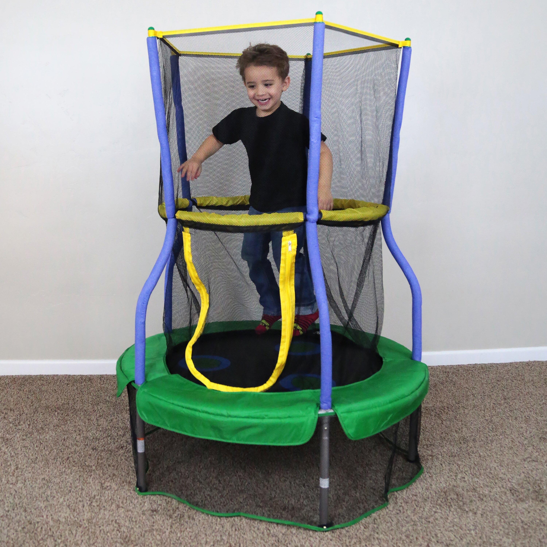 Skywalker lily pad 3 3 39 trampoline with enclosure for Skywalker trampoline
