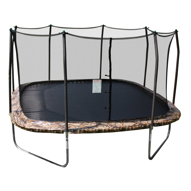 Skywalker camo 14 39 square trampoline and enclosure for Skywalker trampoline