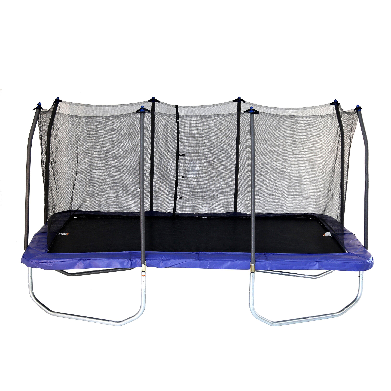 Skywalker Trampolines 15 Foot Sq Trampoline And Safety: Skywalker 15' Rectangular Trampoline With Safety Enclosure