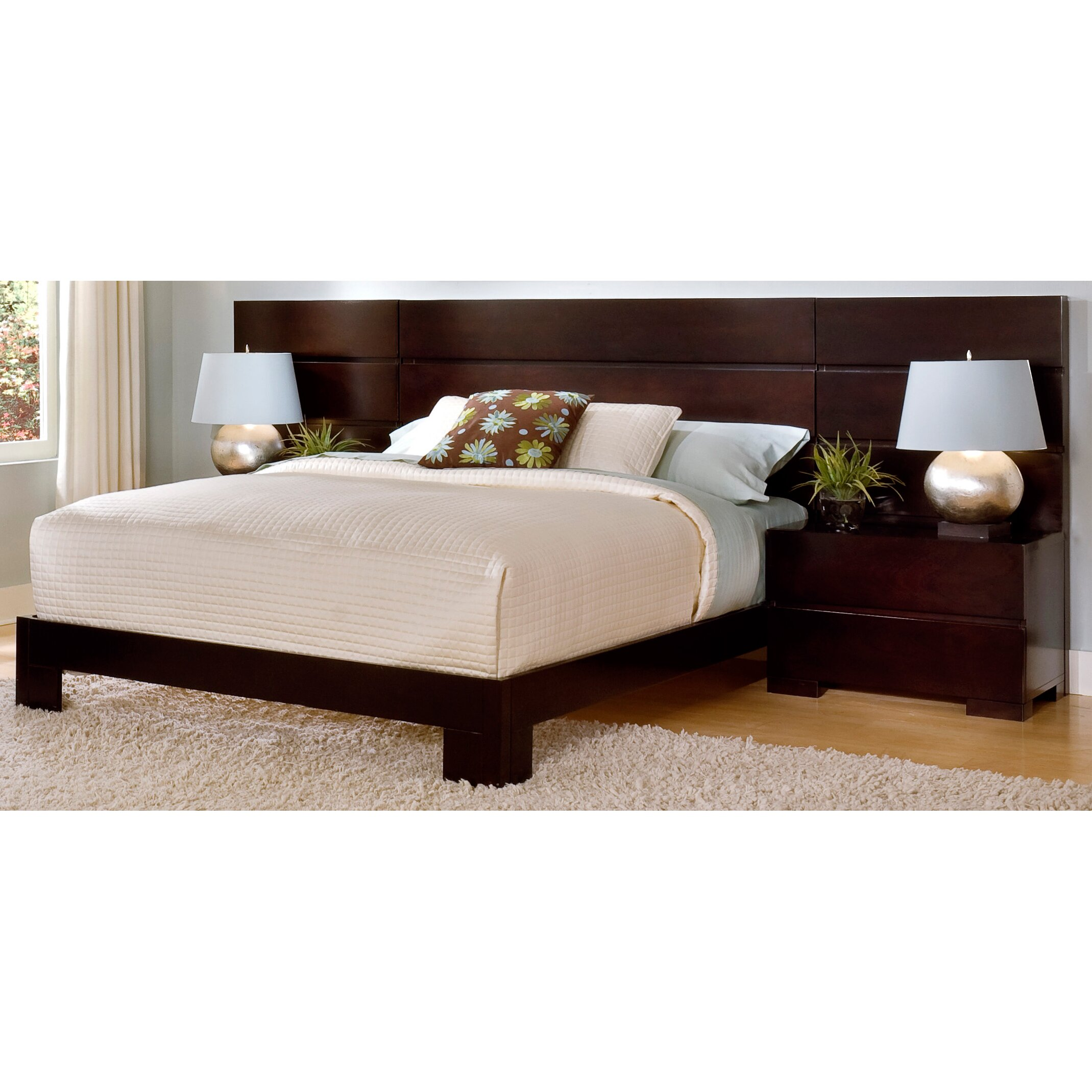 Home Image Madrid Platform Customizable Bedroom Set