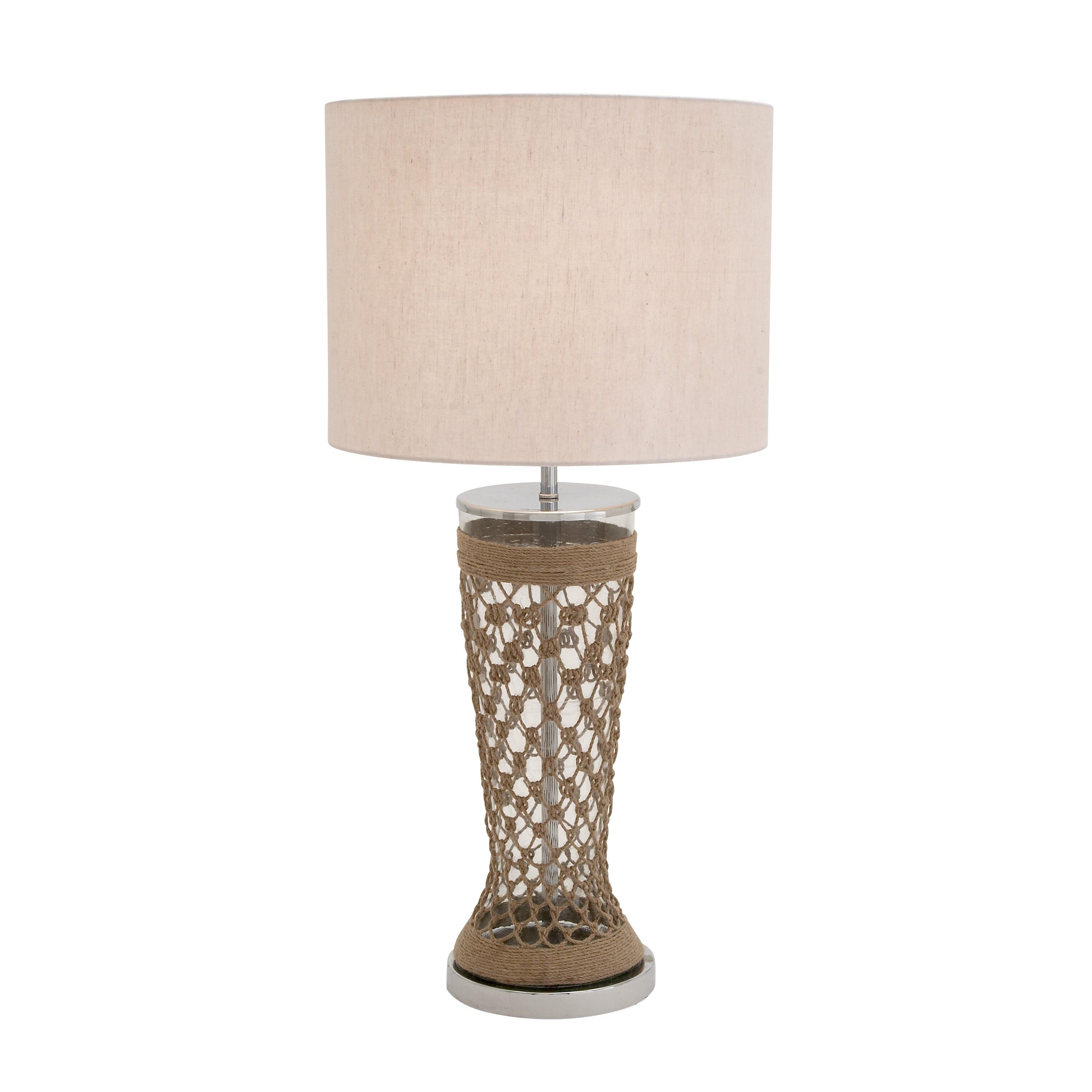 Woodland Imports Fancy 33 Table Lamp Wayfair