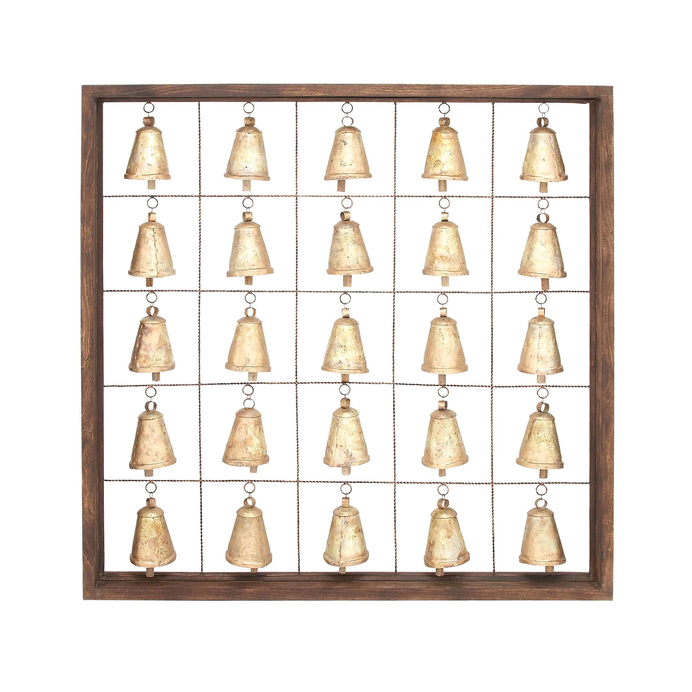 Woodland Imports Classic Wall D�cor Reviews: Woodland Imports Classic 25 Bell Wall Décor