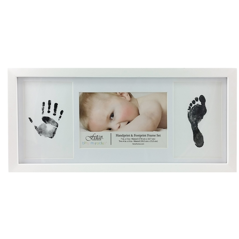 Https Www Wayfair Com Fetco Home Decor Amari Newborn Hand And Foot Print Picture Frame Set