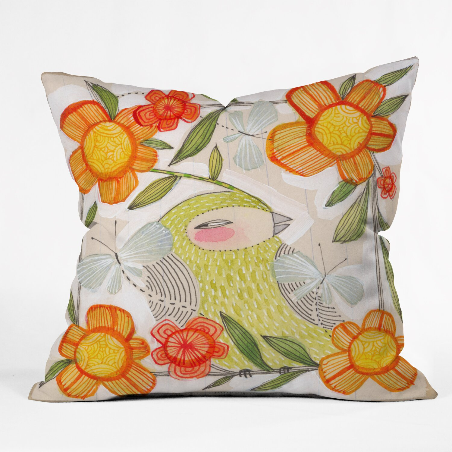 Decorative Pillow Wayfair : DENY Designs Cori Dantini Fine Comanions Throw Pillow & Reviews Wayfair