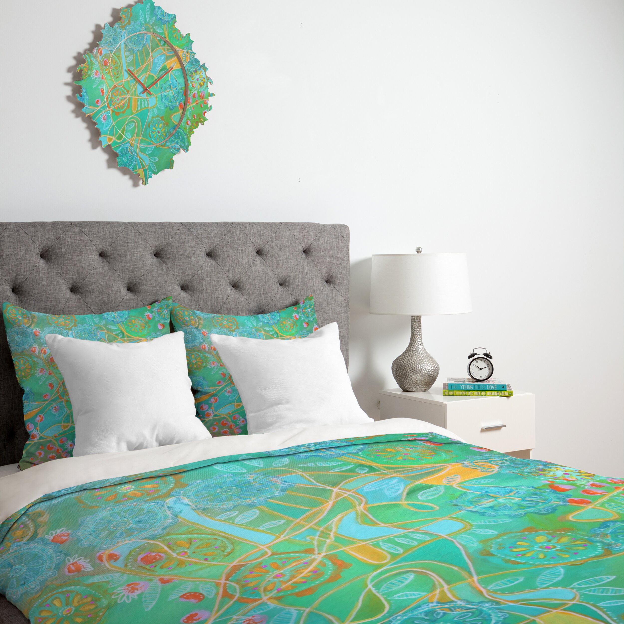Deny Designs Stephanie Corfee Secret Garden Duvet Cover