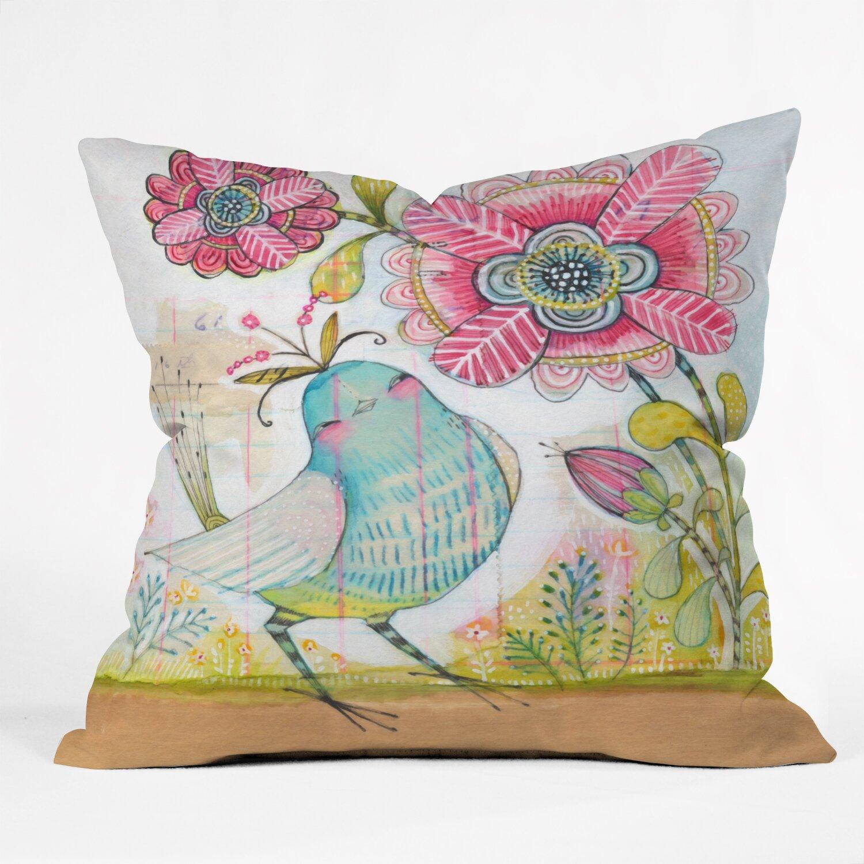 Throw Pillow Love : DENY Designs Cori Dantini I Love You More Throw Pillow & Reviews Wayfair