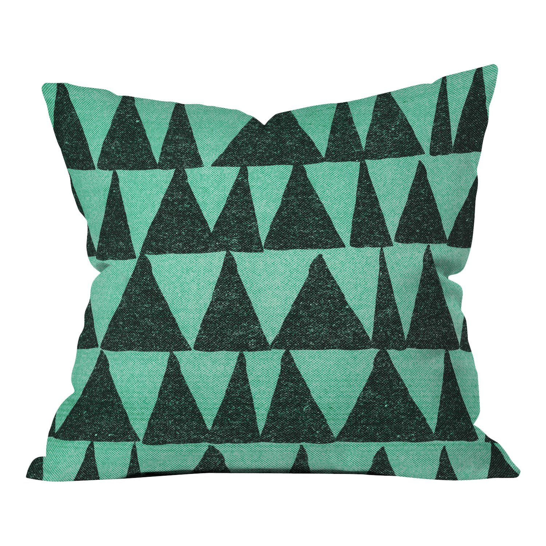 DENY Designs Nick Nelson Analogous Shapes Indoor/Outdoor Throw Pillow & Reviews Wayfair