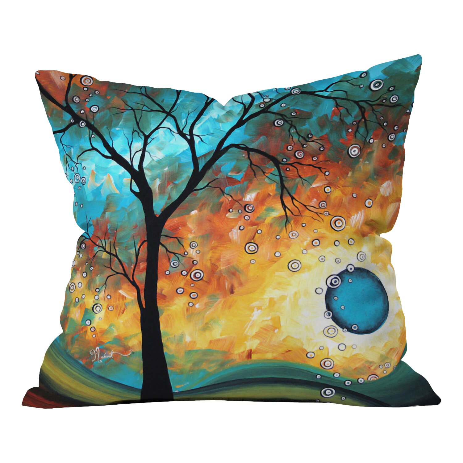 DENY Designs Madart Inc. Throw Pillow & Reviews Wayfair