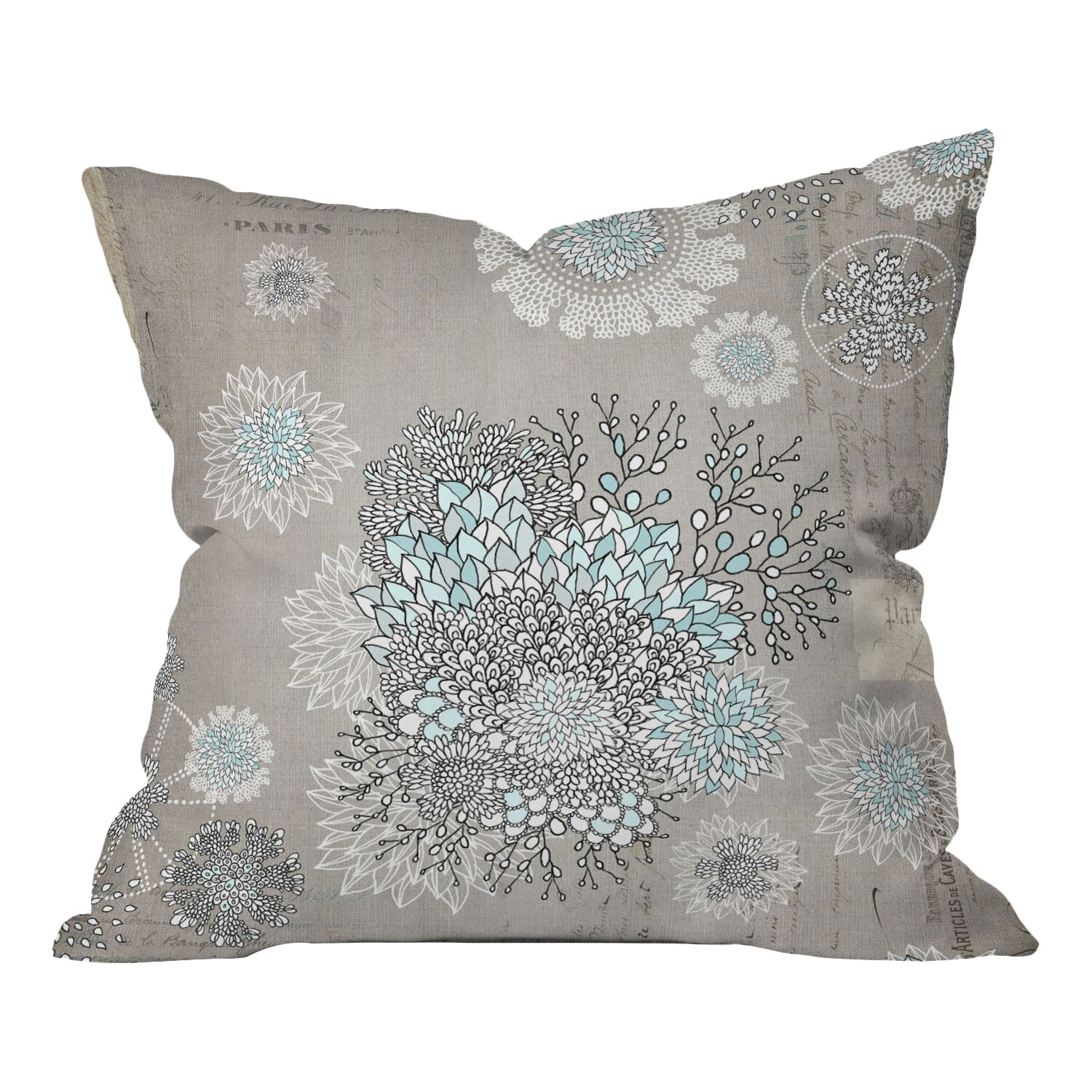 Throw Pillow In French : DENY Designs French Throw Pillow & Reviews Wayfair.ca