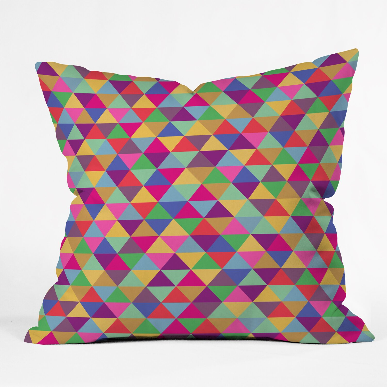DENY Designs Bianca Green Throw Pillow & Reviews Wayfair