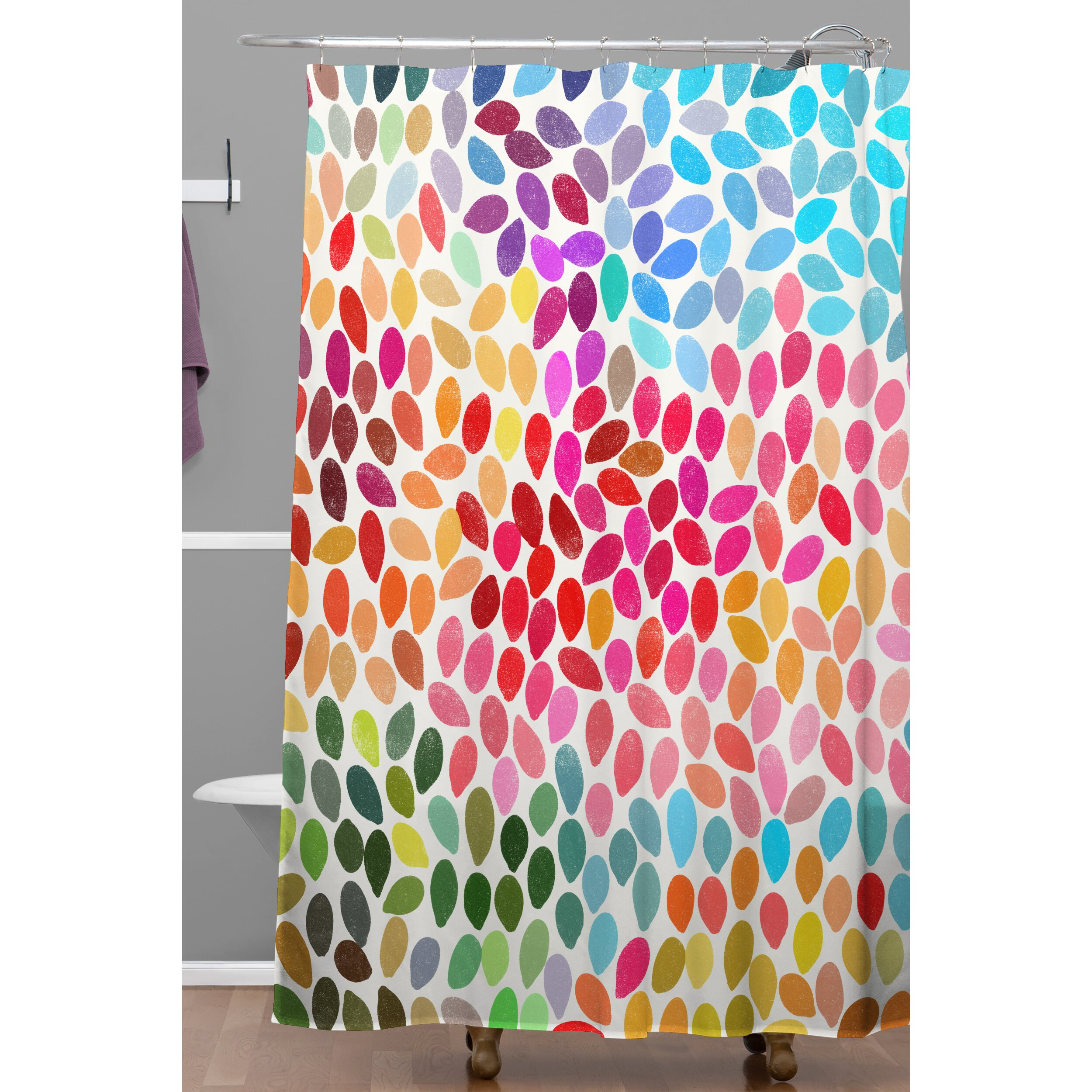 deny shower curtains deny designs aquios shower curtain target  - deny designs garima dhawan dots rain shower curtain deny