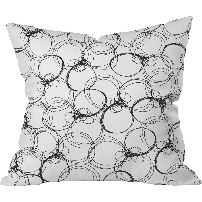 Decorative Pillows With Circles : DENY Designs Rachael Taylor Circles Throw Pillow & Reviews Wayfair