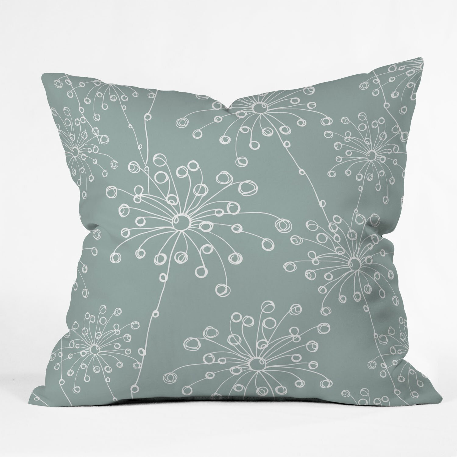 Quirky Throw Pillow : DENY Designs Rachael Taylor Quirky Motifs Throw Pillow & Reviews Wayfair