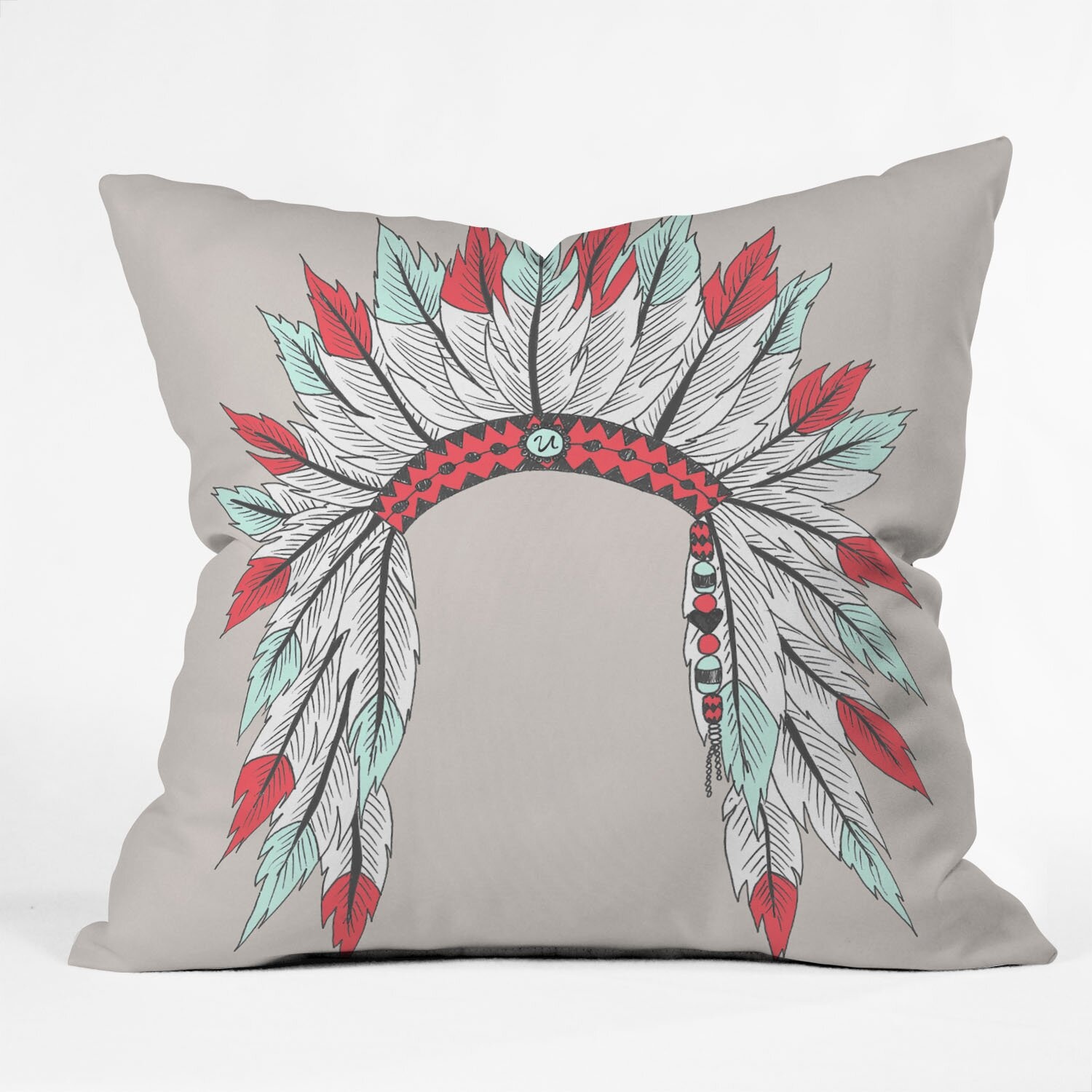 DENY Designs Wesley Bird Dressy Throw Pillow & Reviews Wayfair
