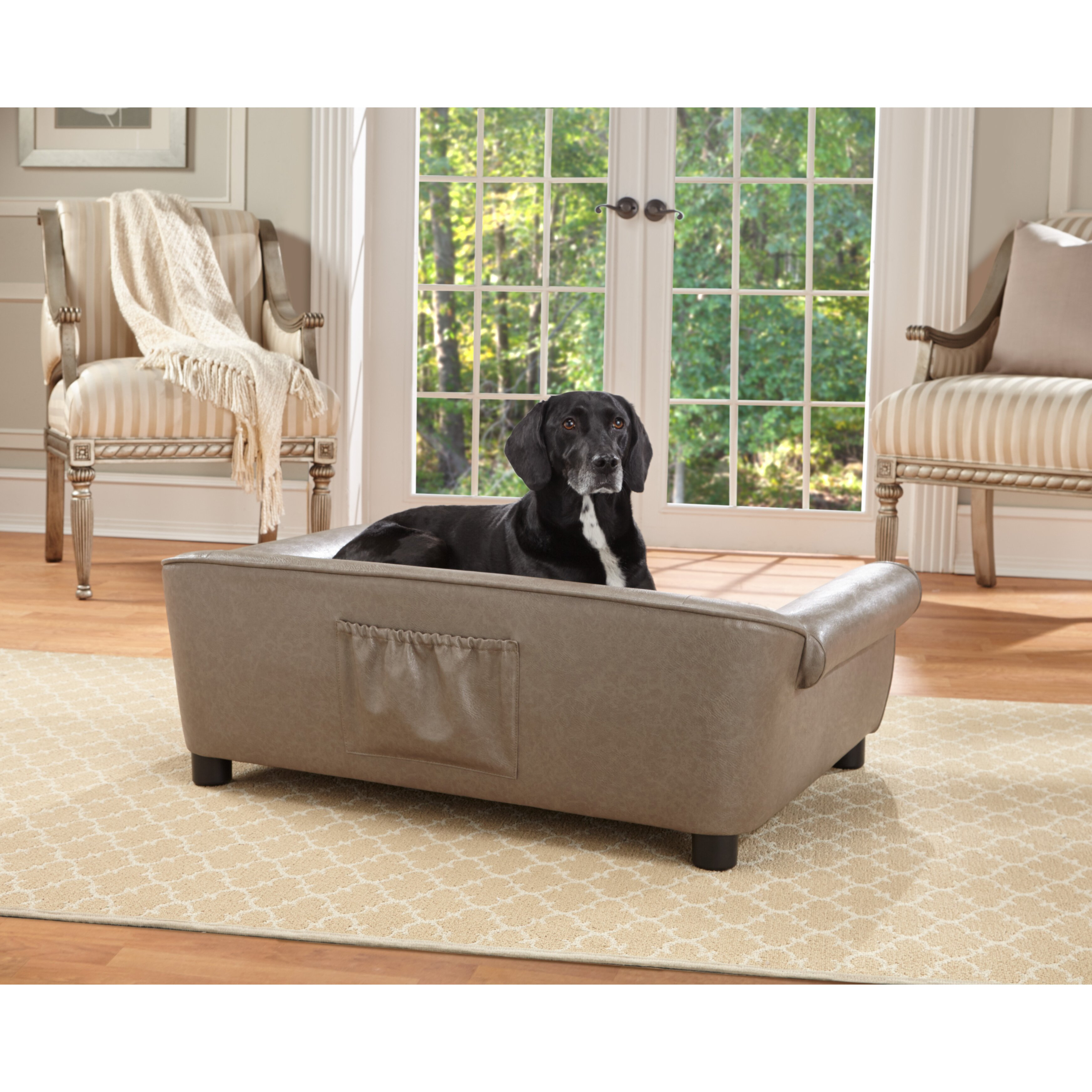 Enchanted Home Pet Rockwell Dog Sofa Reviews Wayfair