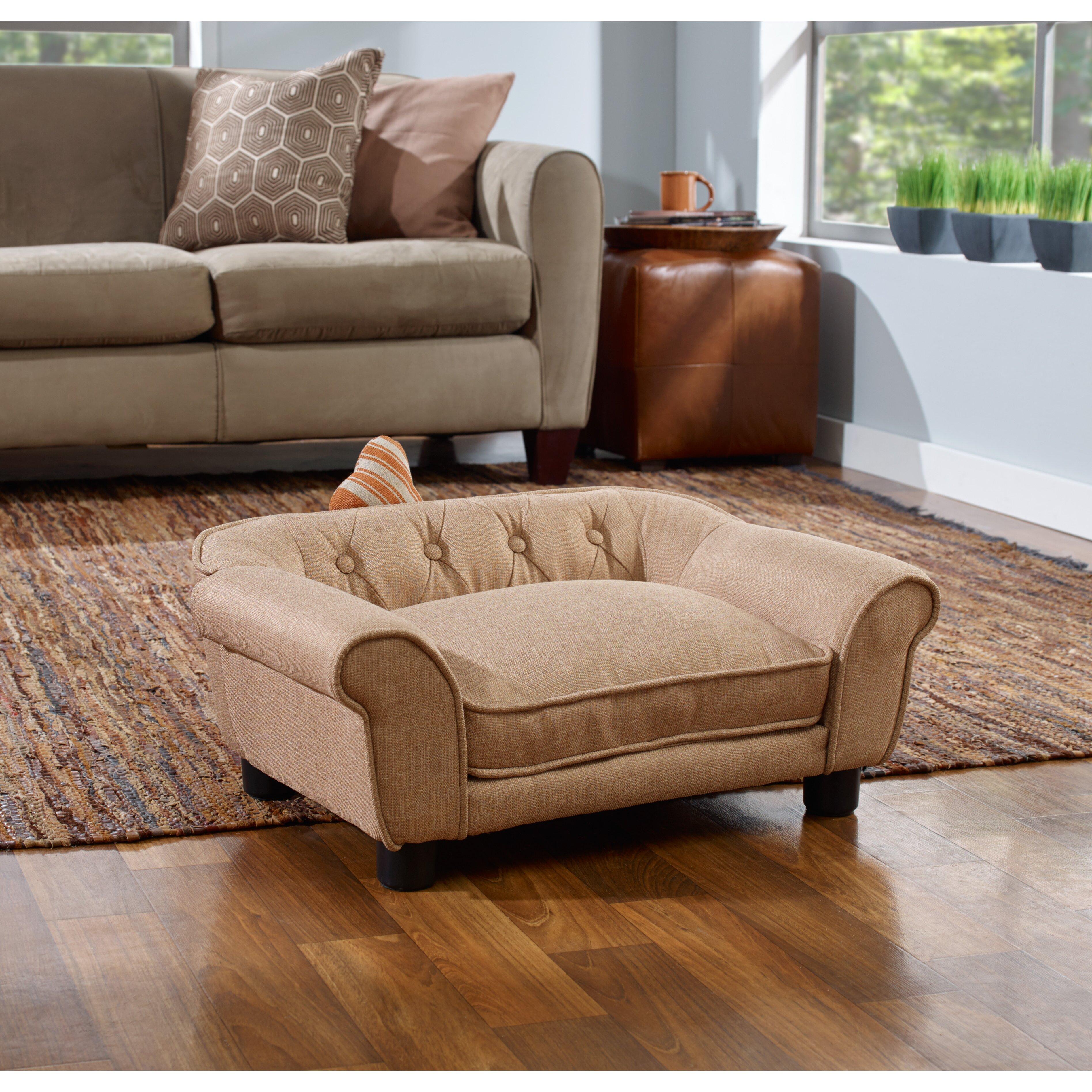enchanted home pet sydney sofa dog bed reviews wayfair. Black Bedroom Furniture Sets. Home Design Ideas
