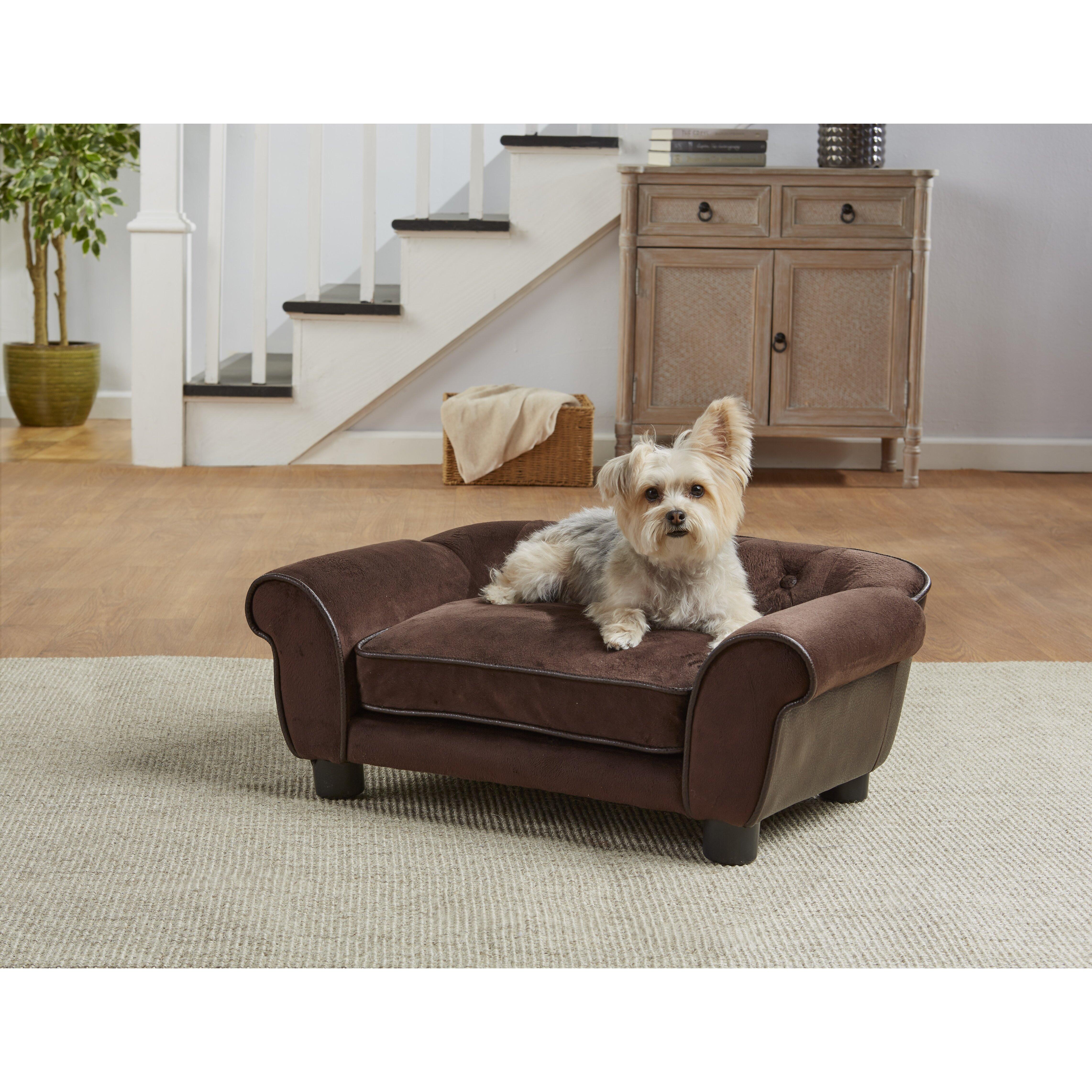 Enchanted Home Pet Kimmi Cleo Dog Sofa With Cushion