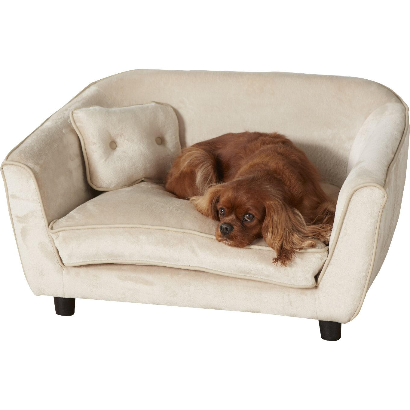 Enchanted Home Pet Ultra Plush Large Astro Dog Sofa Reviews Wayfair