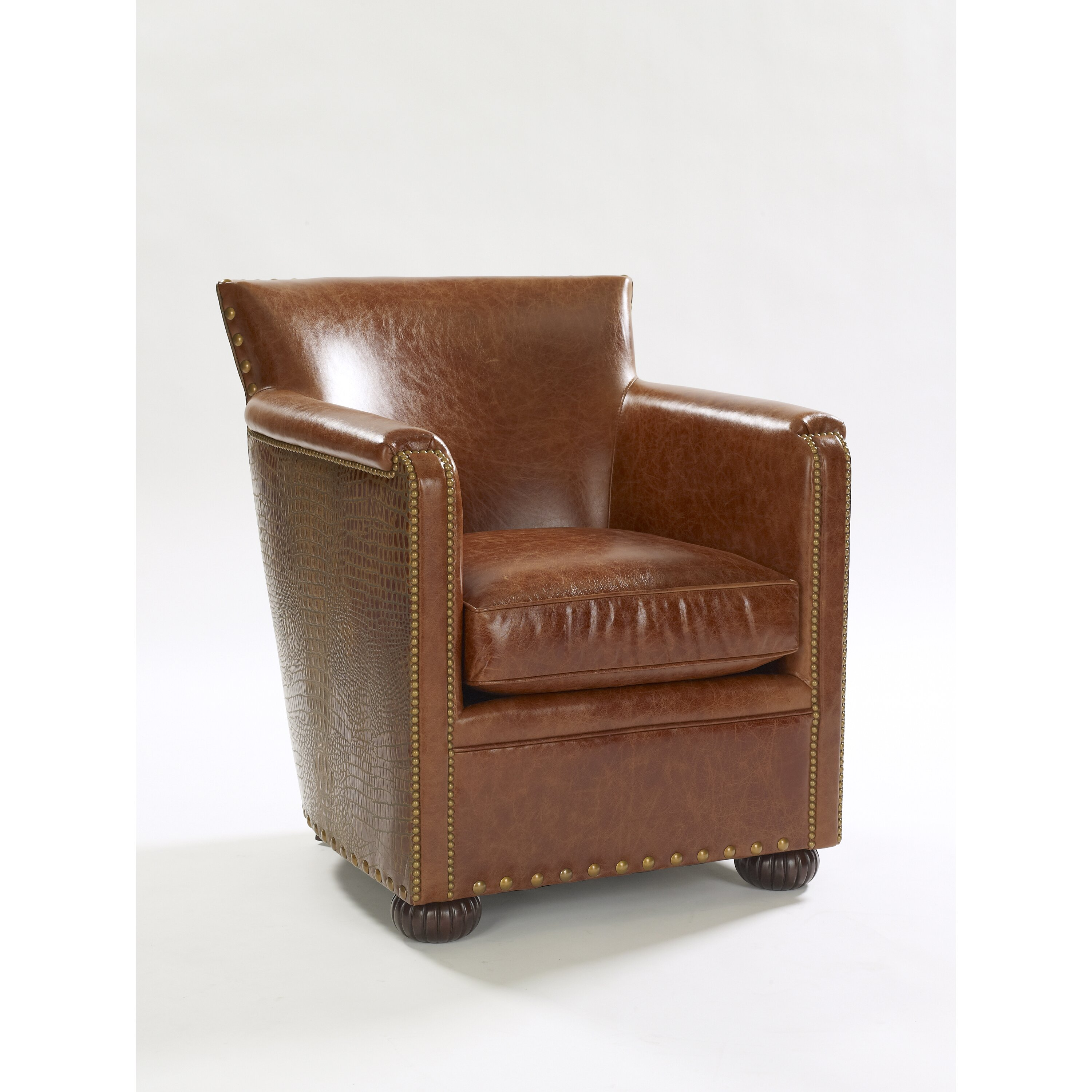 Leathercraft Tahoe Leather Club Chair