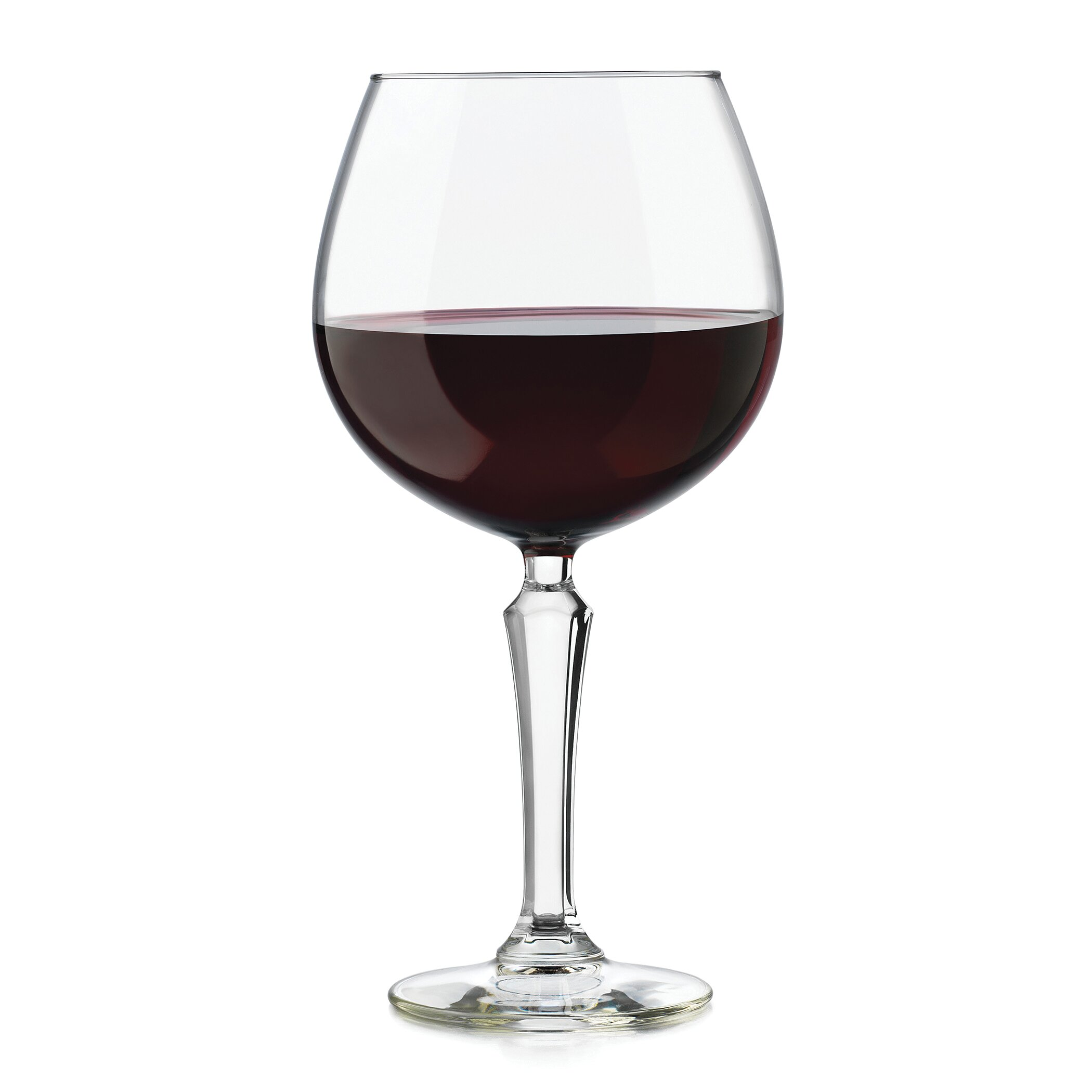 libbey capone 12 oz red wine glass reviews wayfair. Black Bedroom Furniture Sets. Home Design Ideas