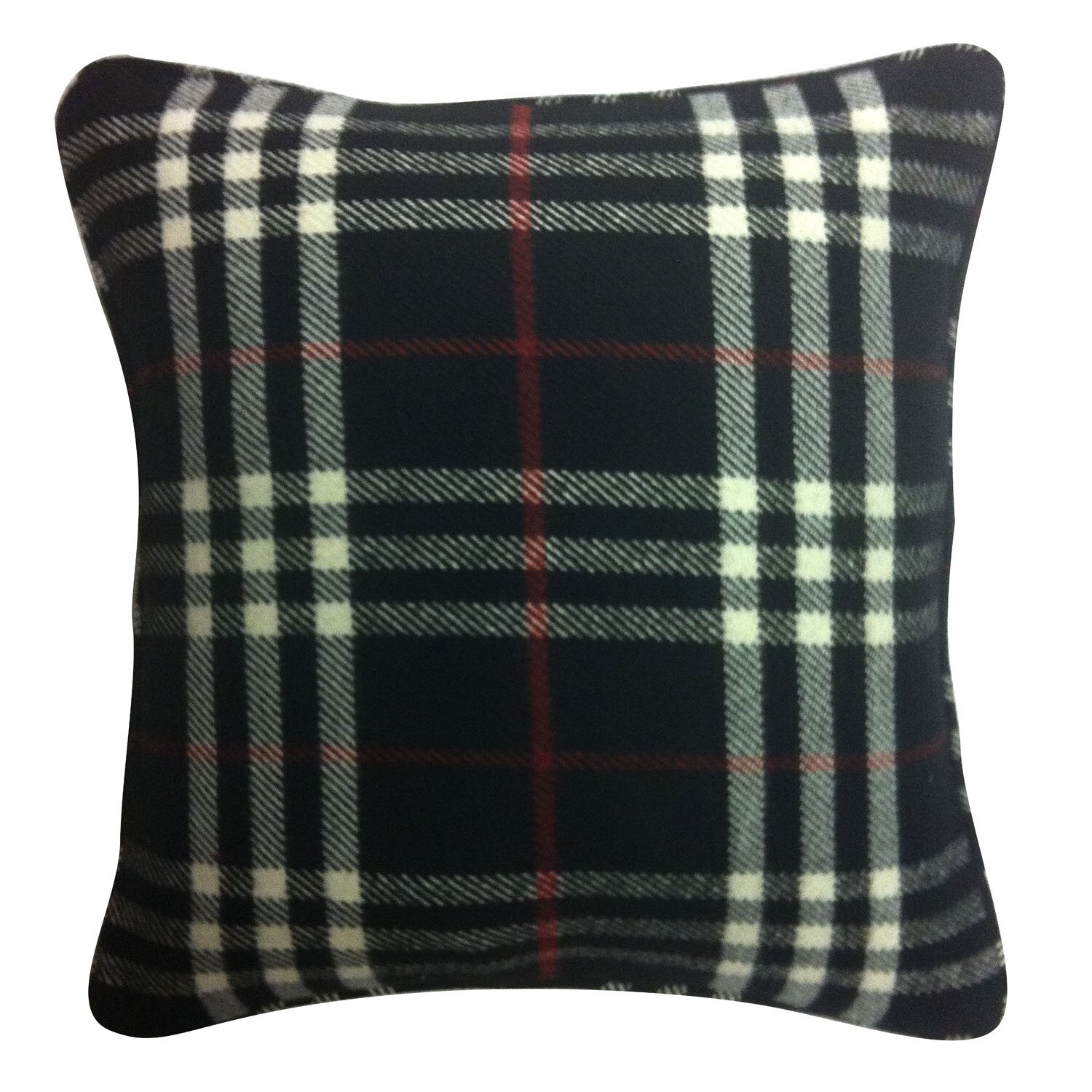 Black Plaid Throw Pillow : Filos Design Black Plaid Throw Pillow Wayfair