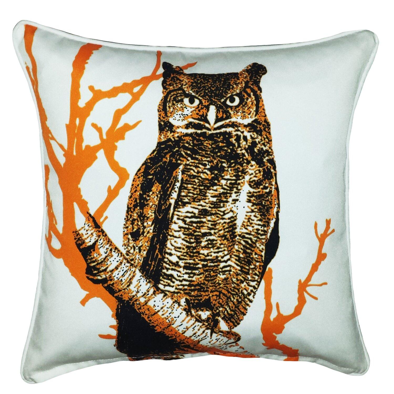 Throw Pillows With Owls : Filos Design Halloween Owl Indoor/Outdoor Throw Pillow Wayfair.ca